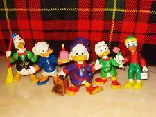 Disney's Ducktales Scrooge McDuck By Bullyland Germany PVC Figures Set of 5 1984