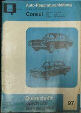 * Ford Cortina GT Mk 1 Corsair Capri Reparaturanleitung  ab 1962 *
