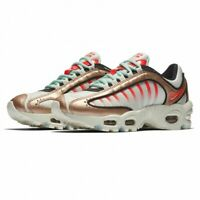 WOMENS NIKE AIR MAX TAILWIND IV - UK 5.5/US 8/EUR 39 - ROSE GOLD/WHITE/RED