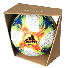 adidas Conext 19 OMB Offizieller Spielball weiß/gelb/rot/blau Größe 5 [DN8633]