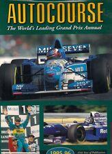 AUTOCOURSE 1995-96 grand prix f1 fangio michael schumacher
