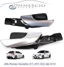Maniglia Porta Interna Giulietta dal 2010 Kit Coppia Lato Guida + Passeggero