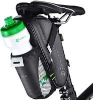 ROCKBROS Cycling Carbon Pouch Bicycle Saddle Bag Bike Waterproof Seat Post Bag