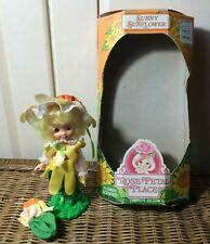 Vintage 1984 Kenner Rose Petal Place Doll ~ Sunny Sunflower ~ Box