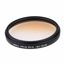 52mm Graduated Brown Special Effects Lens Filter for All Digital Camera Lens