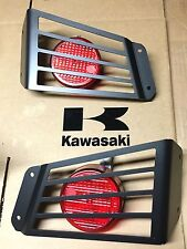KAWASAKI TERYX 4-PAIR  LED TAIL LIGHT x2 + GUARDS! USA( lamp 750/800) teryx4