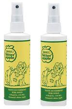GRANNICKS Bitter Apple Spray for Dog - 8oz Habit breaker training aid - 2pk
