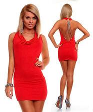 Viscose Cowl Neck Regular Size Sleeveless Dresses for Women