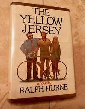 THE YELLOW JERSEY Raplh Hurne, HC/DJ First Printing 1973 Simon Schuster