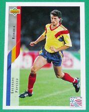 RARE FOOTBALL CARD UPPER DECK 1994 USA 94 GHEORGHI POPESCU ROUMANIE ROMANIA