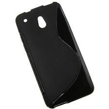 HTC ONE MINI M4 NERO S-Line GEL Custodia