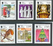 Isle of Man Christmas 2013 new issue set of 6 mnh