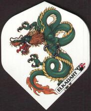 Vintage Dragon Artwork Dart Flights: 3 per set