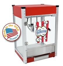 Paragon Cineplex 4 ounce Popcorn Machine  (Red). #1104800