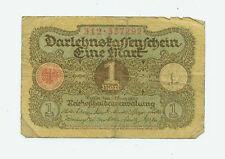 Deutsches Reich Geld Banknote Geldschein1 Mark 1920 Ro. 64