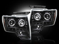 RECON 264190BK - 09-14 Ford F-150 / Raptor; Projector Headlights; Smoked