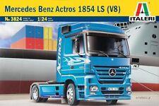 ITALERI 1:24 KIT TRUCK CAMION MERCEDES BENZ ACTROS 1854  LS V8  art. 3824
