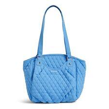 Vera Bradley Glenna Satchel Bag in Sky Blue