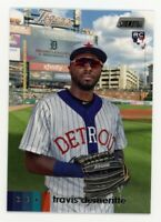 2020 Topps Stadium Club #126 TRAVIS DEMERITTE Detroit Tigers PHOTO Rookie Card