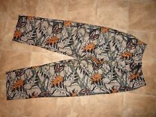 Men's Fruit Of The Loom Camo Soft Fleece Pajama/Lounge Pants Size S 28x30 NWOT