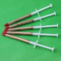 5pcs High Performance Gold Thermal Grease CPU Heatsink Long Compound Paste
