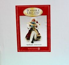 CHRISTMAS COLLECTIBLE POSSIBLE DREAMS CLOTHTIQUE WORLD PEACE SANTA #4038741D NEW