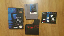 Total Recall (Nintendo Entertainment System, 1990) /W BOX AND MANUAL
