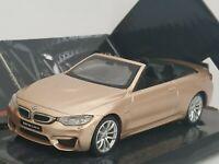 1/43 BMW M4 CABRIO SERIE 4 M COCHE DE METAL A ESCALA SCALE DIECAST