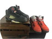 RARE Jordan Retro 5 Raging Bull Pack Size 11 Complete With Box Good Condition