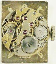 Paul Ditisheim Wristwatch Movement - Caliber 16 Jewels  -  Spare Parts, Repair!