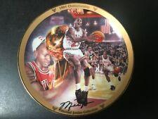 Michael Jordan 1991 Championship COLLECTORS PLATE #17505G Bulls Limited Edition