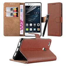 Fundas y carcasas, modelo Para Huawei P9 lite color principal marrón para teléfonos móviles y PDAs
