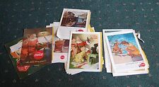 36 Coke ads 1940-60s back pages of National Geographic Magazine