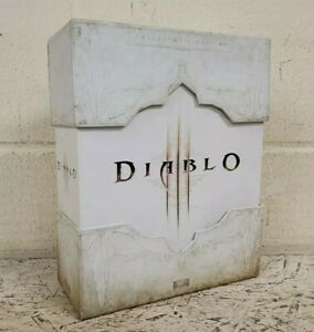 Diablo III Collectors Edition PC Game *No Diablo Skull Figurine* (L10)