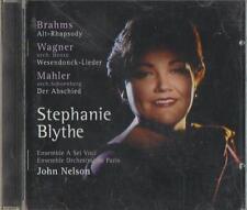C.D.MUSIC D281   BRAHMS/WAGNER/MAHLER. STEPHANIE BLYTHE/JOHN NELSON  CD