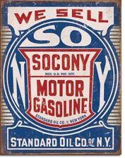 Hot Rod Retro Vintage Decor Metal Standard Oil NY Gas Tin Sign Man Cave Garage