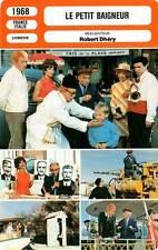 FICHE CINEMA : LE PETIT BAIGNEUR - De Funès,Dhéry 1968 The Little Bather