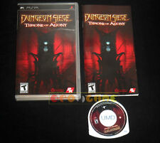 DUNGEON SIEGE THRONE OF AGONY Psp Versione Americana 1ª Edizione •••• COMPLETO