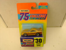 MATCHBOX SUPERFAST GOLD CHALLENGE #30 TOYOTA SUPRA LIMITED EDITION 1 OF 10,000