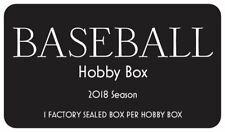 Бейсбольные MLB хобби коробка - 2018 в заводской упаковке выпуск Норвегии - 1, запечатанная коробка в коробке