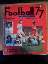 Panini album: Football 77 (complete)