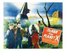Man From Planet X Poster 02 Metal Sign A4 12x8 Aluminium