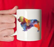 Clumber Spaniel Mug - Clumber Spaniel Lover Gift -Watercolor Clumber Spaniel Mug
