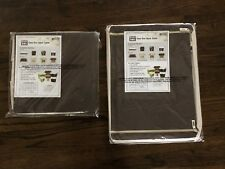Kano Polyester Foldable Wire frame Storage Box 2Pack W/Clear View Window NEW