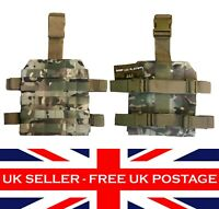 MTP Multicam ATP Molle DROP LEG PLATFORM Airsoft Military Army Tactical Panel UK