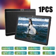 """Android 8.0 Ten Core 10.1"""" HD Game Tablet Computer PC GPS Wifi Dual Camera US"""