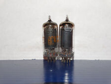 2 x 6AU6/A RCA Tubes *Black Plates*Strong Matched Pair*