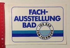 Aufkleber/Sticker: Fach-Ausstellung Bad - Ihr Bad Vom Fachmann (05051616)