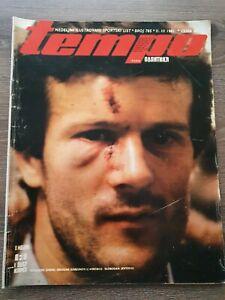Magazine TEMPO 785 football Inter Milan Red Star Belgrade report Yugoslavia 1981