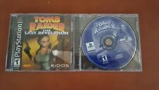 Tomb Raider The Last Revelation and Tomb Raider Chronicles for PS1 Black Label